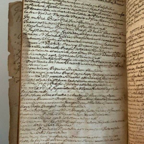 18th CENTURY MANUSCRIPT COMMONPLACE BOOK