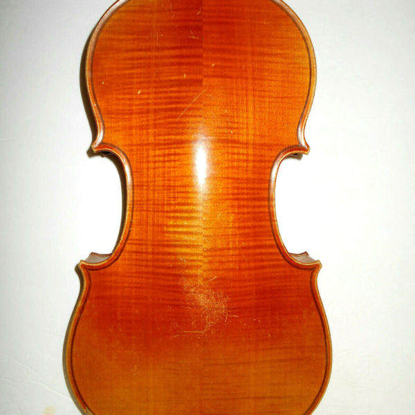 """Vintage Old Antique 1925 French """"Lyon & Healy  Style 1018"""" Full Size Violin - NR"""