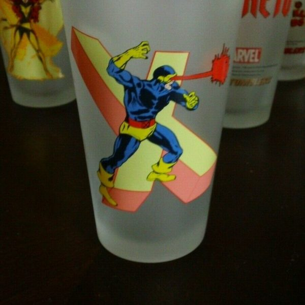 Marvel - Cyclops - Toon Tumblers - Tall Glass - Frosted