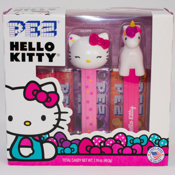 PEZ - HELLO KITTY BOXED SET OF 2 WALGREENS EXCLUSIVE - W/ UNICORN