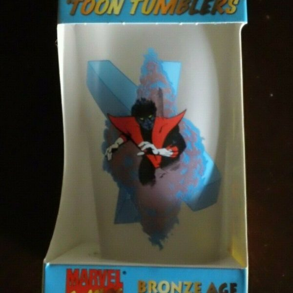 Marvel - NightCrawler - Toon Tumblers - Tall Glass - Frosted