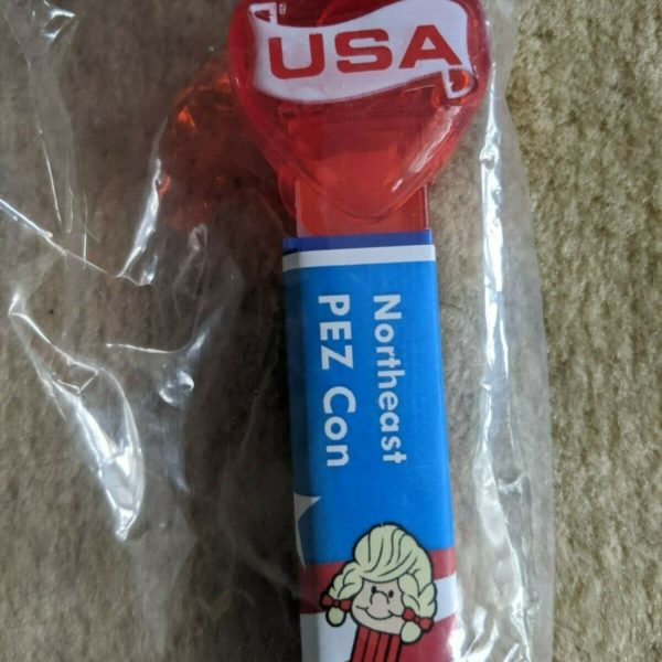 Pez - 2020 Northeast Pez Convention - Crystal Heart - ONLY 4 MADE - VERY Limited