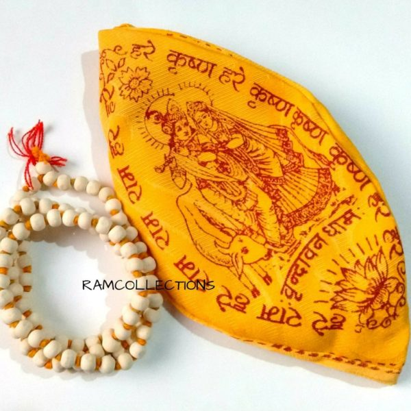 YOGA HEALING TULSI MALA TULASI MALA WITH GOMUKH BAG GOMUKHI BAG ENERGIZED