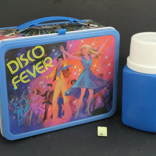 Disco Fever, Vintage Thermos Lunchbox w/ Thermos Bottle 6