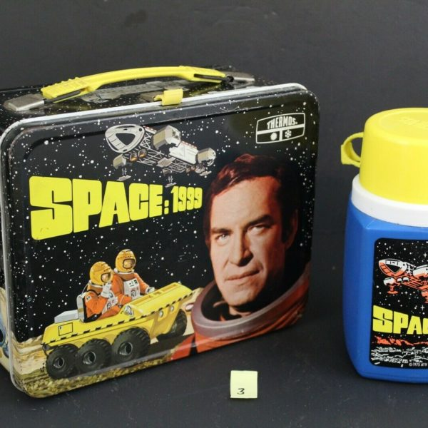 Space 1999, Vintage Thermos Lunchbox w/ Thermos Bottle 3
