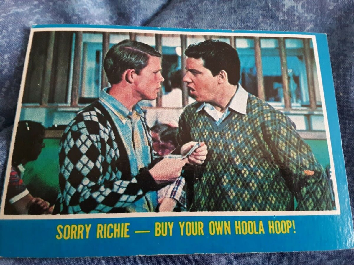 Happy Days Trading Cards (2) Tops Chewing Gum