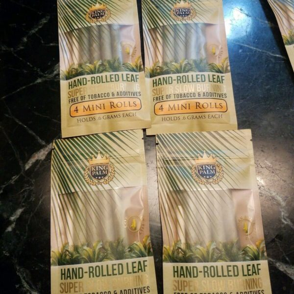 KING PALM MINI ROLLS 4 PACKS OF 4