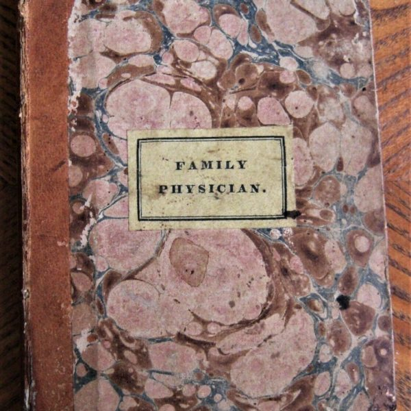 1833 medical book IMPROVED AMERICAN FAMILY PHYSICIAN first edition