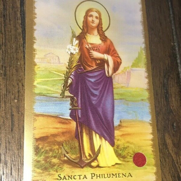 Authentic Third Class Relics Of Saint Philomena, Catholic, Christian, Religion