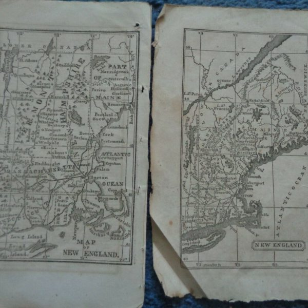 (2) maps 1843 and 1847  of New England