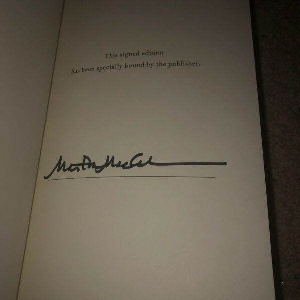 MARTHA MACCALLUM HAND SIGNED UNKNOWN VALOR FIRST EDITION HARDCOVER BOOK COA
