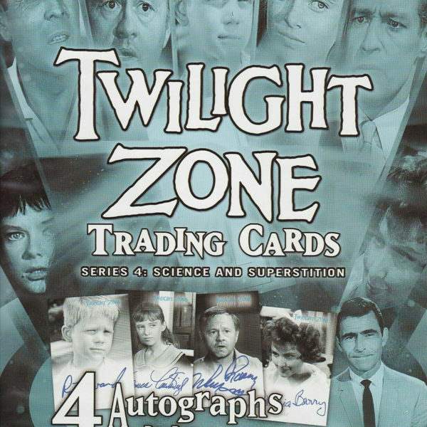 Twilight Zone Series 4: Science/Superstition - MASTER SET - Rittenhouse 2005