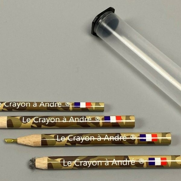 """Complete set of (4) Andre's pencils for coins and relics - """"Le Crayon a Andre"""""""