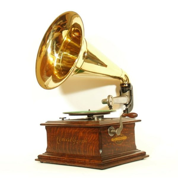 1904 Zonophone Concert Grand Phonograph * Outstanding * No Replica Parts