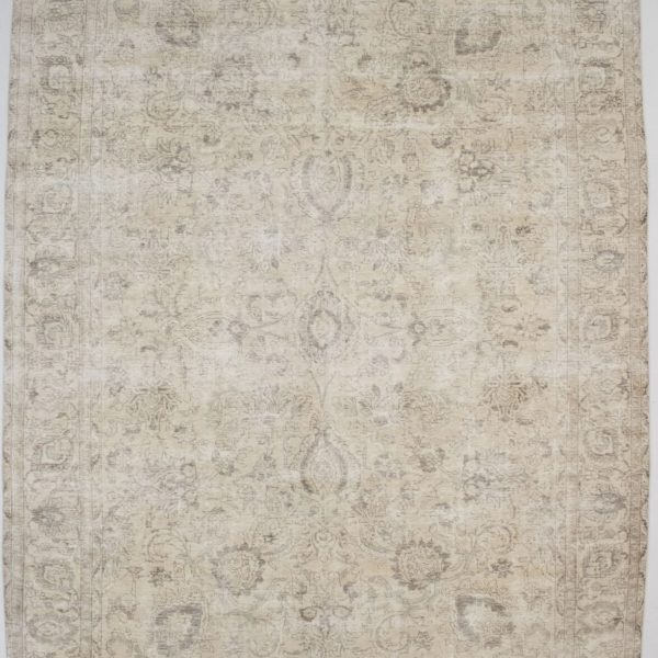 Large Muted Antique Distressed Faded 10X14 Washed-out Oriental Area Rug Carpet