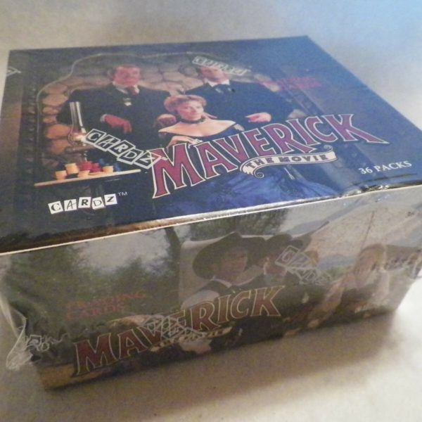 1994 Maverick Movie Trading Card 36 Unopened Pack Box Cards NS11
