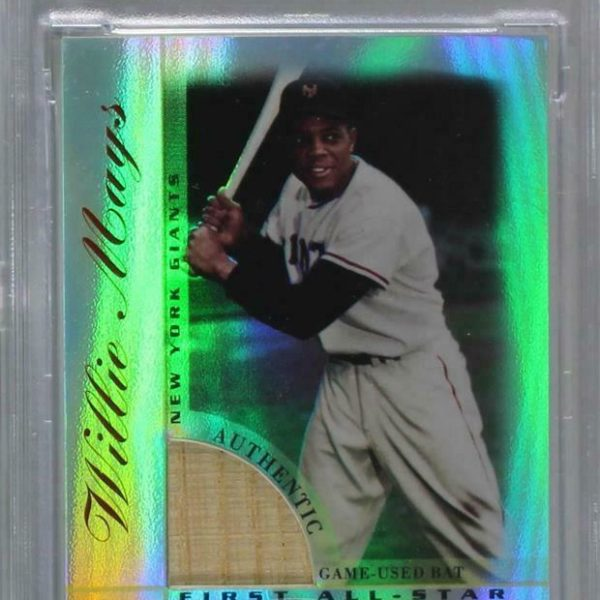 2003 Topps Tribute - Perennial All-Star Edition Relics Willie Mays PSA 9 HOF