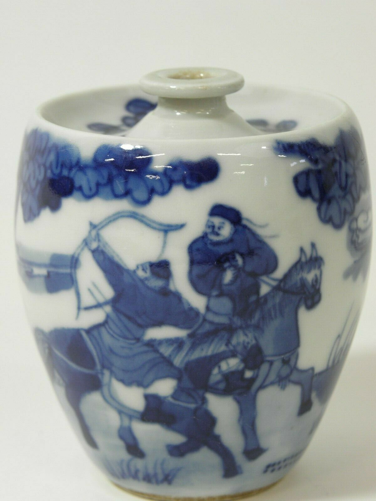 SMALL CHINESE PORCELAIN VASE/ SNUFF BOTTLE ?