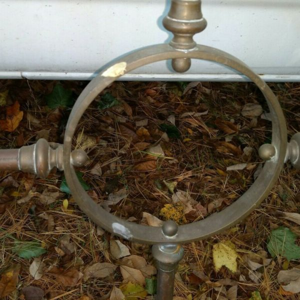 Large Bronze Architectural Rail Fence Window Grate ??
