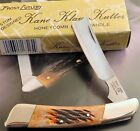 Frost Cutlery Kane Klaw Kutter Razor Knife Honeycomb Bone 1990's Era 1 2 Carry