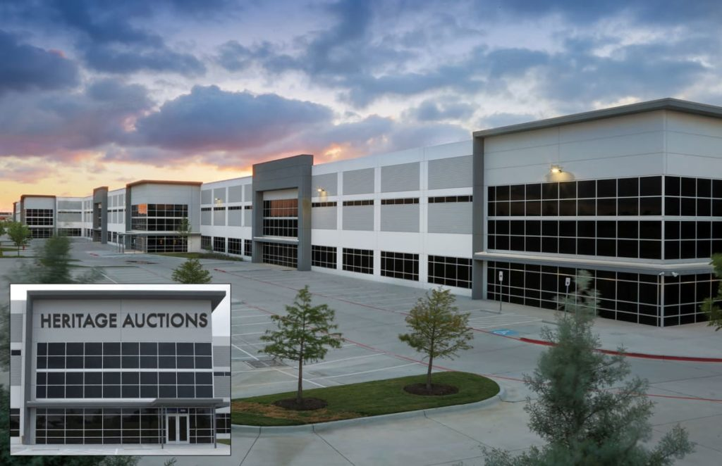 Heritage Auctions Moves Global Headquarters