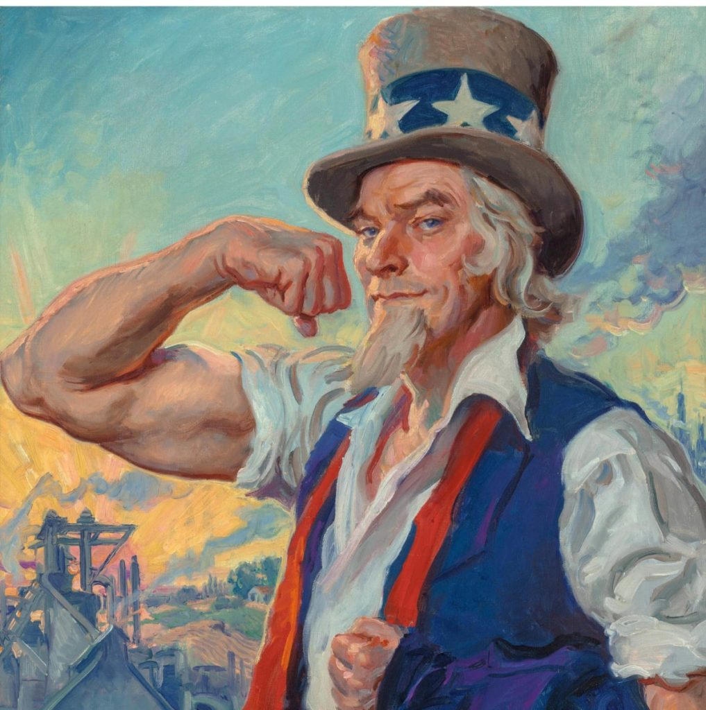 Uncle Sam Illustrator James Montgomery Flagg