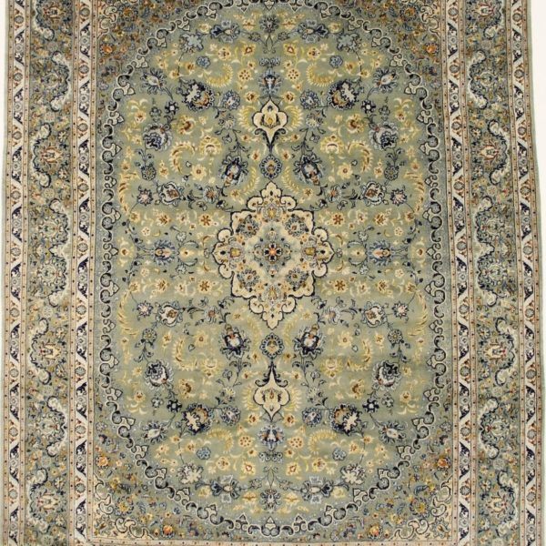 Sage Green Floral Traditional Classic 10X13 Oriental Large Area Rug Wool Carpet