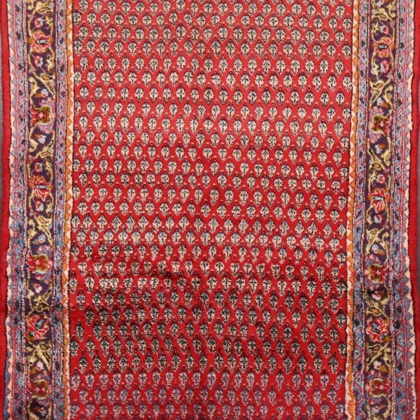 Excellent Vintage Paisley Botemir Handmade Area Rug 3x5 All-Over Oriental Carpet