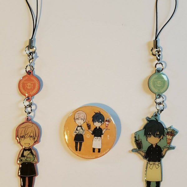 *^*^*SPRING SALE*^*^ | $2 Each | 10 Ten Count Kurose Shirotani | Yaoi Key Chains