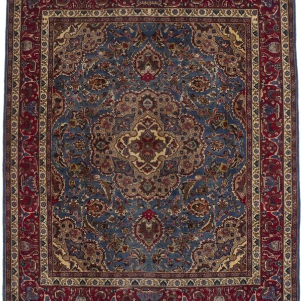 Pictorial Design Semi Antique 8X10 Handmade Oriental Wool Rug Home Décor Carpet