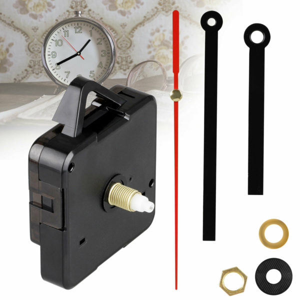 Replacement Battery Operated Quartz Clock Movement Mechanism DIY Part with Hands