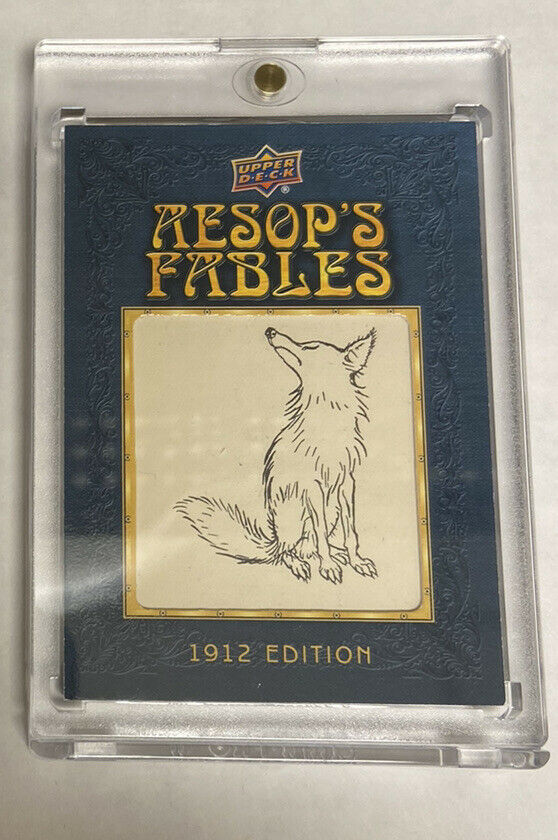 2020 Goodwin Champions Aesop's Fables Illustration Relics 1912 Edition #AF-3