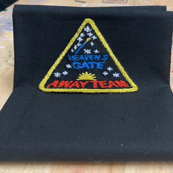 Heavens Gate Away Team Patch