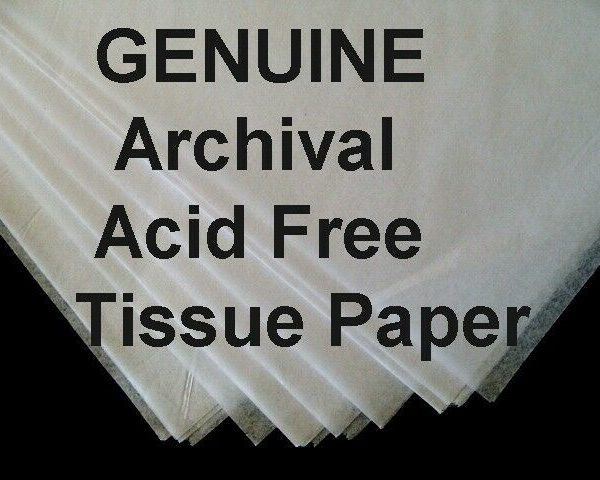 25 Sheet ROLL JUMBO 24x36 ACID FREE Tissue Paper UNBuffered + FREE SACHET