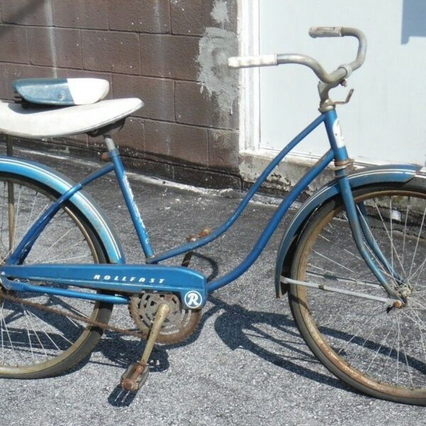 ROUGH Vintage RollFast Bike w/ Extra Seat