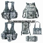 USED MOLLE ACU Rifleman Army Set Assault Pack FLC Hydration Waist Pack 16 Piece