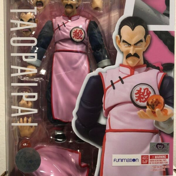 S.H.Figuarts Tao Pai Pai Dragon Ball Action Figure Bandai New Authentic In Stock