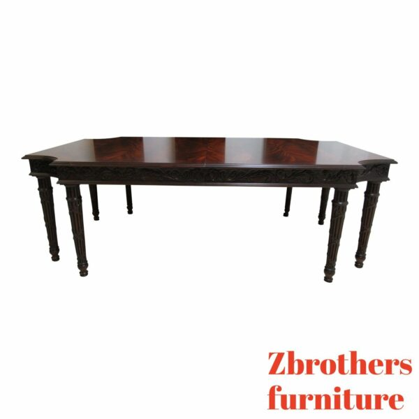 Councill Craftsman Furniture Flame Mahogany Dining Banquet Conference Table