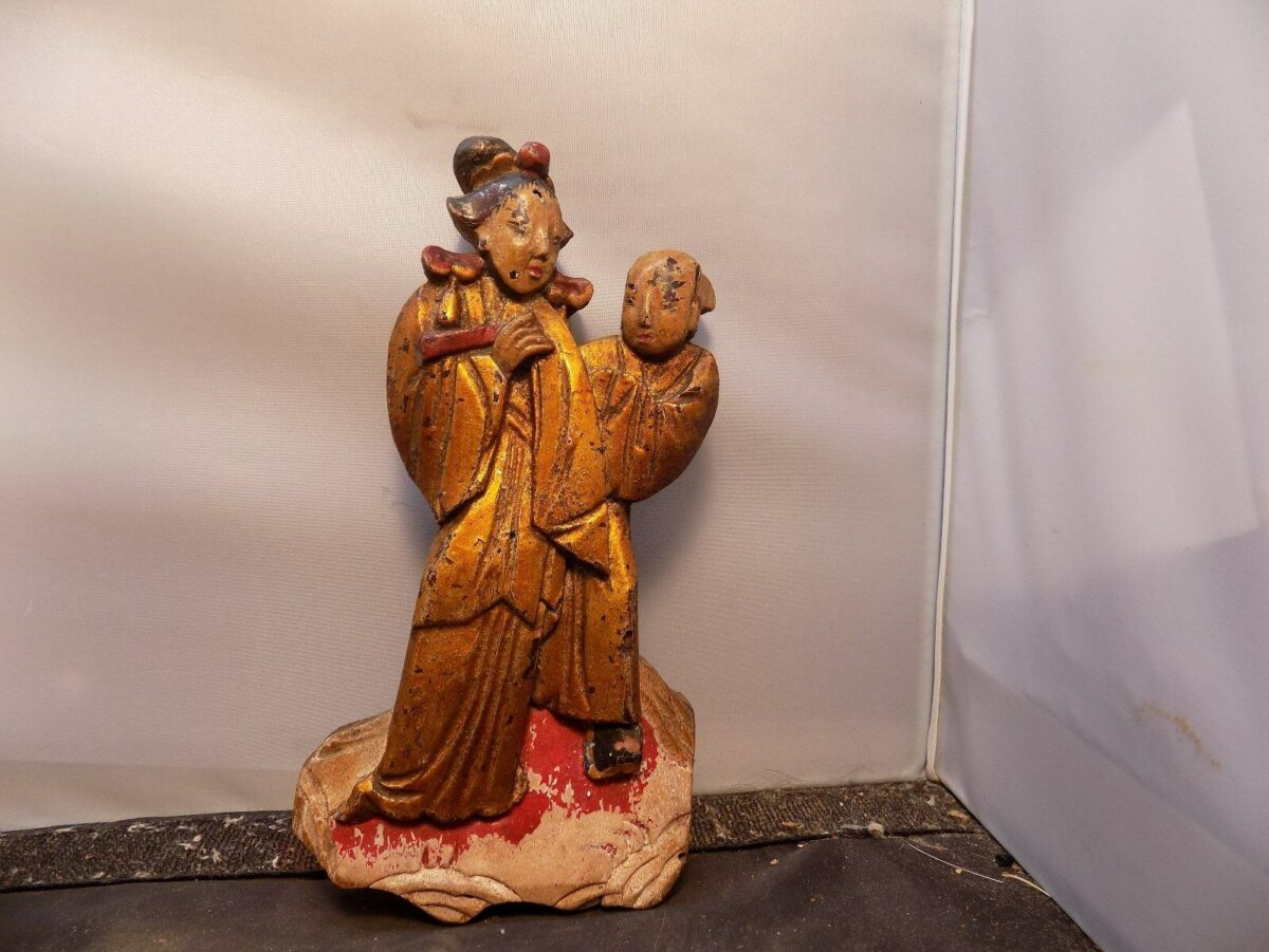 antique chinese wood