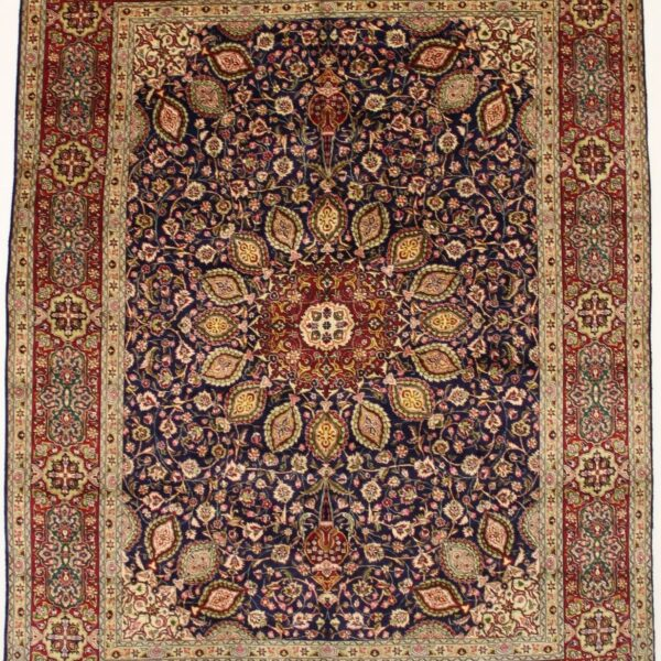 Captivating Handmade Vintage Unique Sheikh Safi Oriental Wool Rug Carpet 10X13