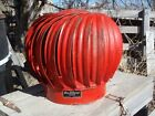 NOS RED   Barn Vent Wind Turbine Ventilator