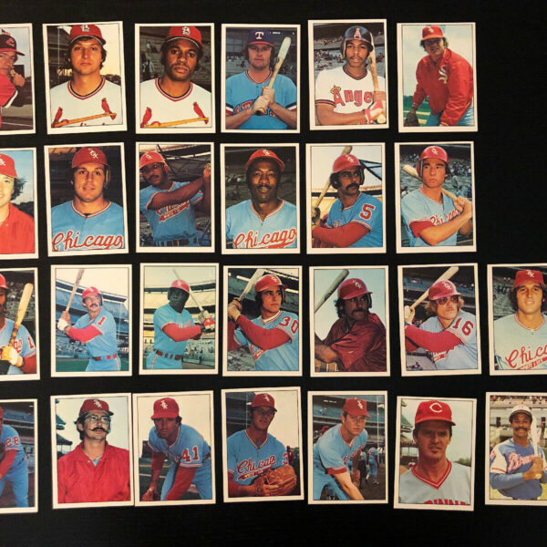 1975/1976 SSPC CHICAGO WHITE SOX Complete 26 Card Team Set Goose Gossage Kaat
