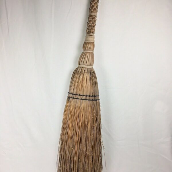 Vtg Berea College Woven Artisan Hearth Broom Kitchen Decor Rustic Antique Folk