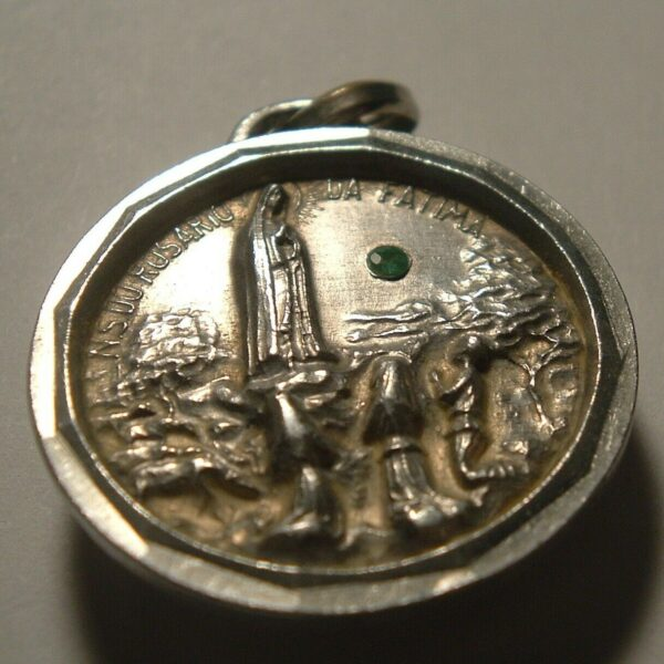 UNIQUE HOLY FATIMA PORTUGAL SOIL RELIC RELIQUARY , Haven't seen this one before