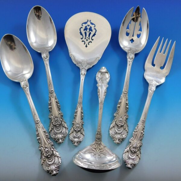 Sir Christopher by Wallace Sterling Silver Essential Serving Set Large 6-piece