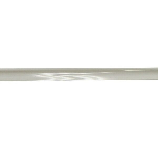 Vintage Glass Towel Bar with New Chrome Brackets
