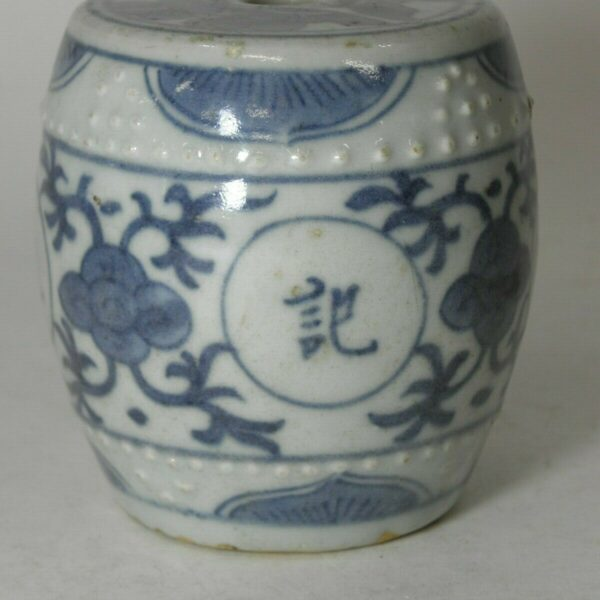 ANTIQUE CHINESE PORCELAIN SCROLL WEIGHT  #1