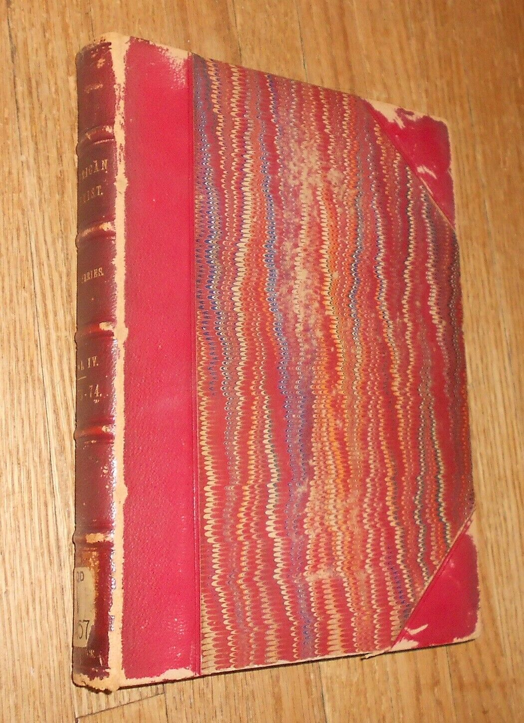 1874 Antique Book The American Chemist bound volume 12 issues ed. W