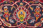 Vintage Excellent Traditional Floral Kashaan Area Rug RED Wool Hand-Knotted 8x11