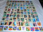 Desert Storm Trading Cards 1 through 88,plus 11 stickers, and wrapper